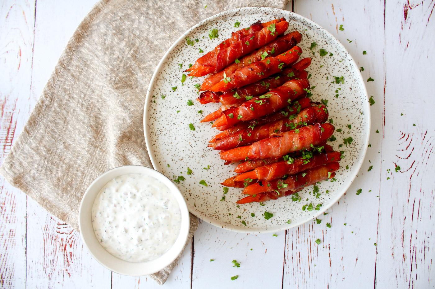 Gulerødder Med Bacon Og Honning