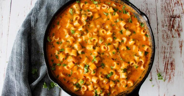 Mac And Cheese Inspireret Pastaret