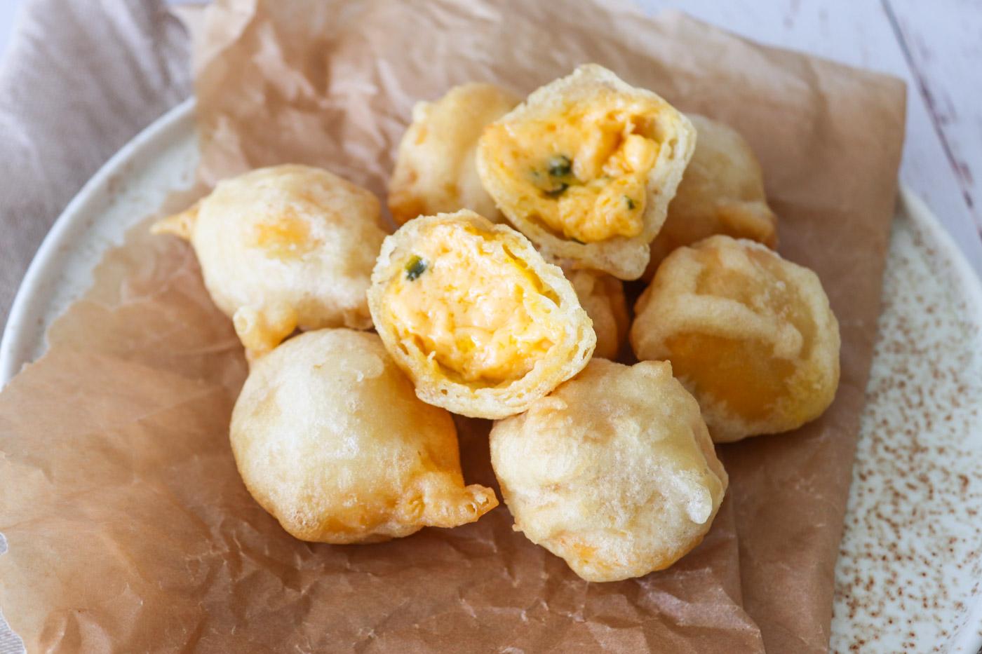 Chili Cheese Tops – Hjemmelavede Ostekugler Med Cheddar