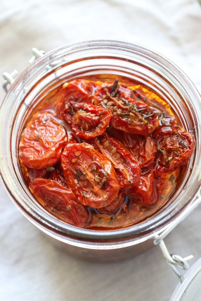 Semitørrede Tomater - Hjemmelavede Semitørrede Tomater