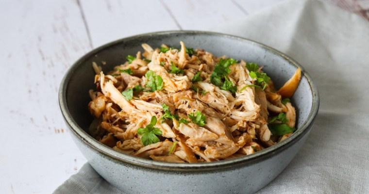 Pulled Kylling I Ovnen – Hjemmelavet Pulled Kylling