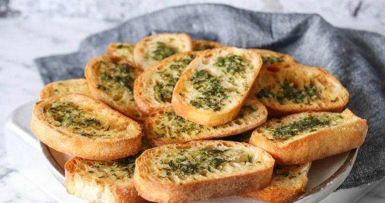 Sprøde Brød Med Urter – Lækker Snack Til Dip Og Tapasbordet
