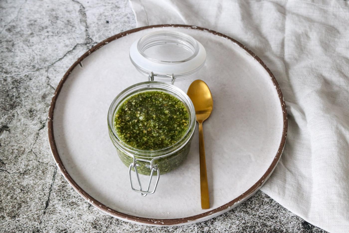 Hjemmelavet Pesto – Pesto Af Ristede Græskarkerner