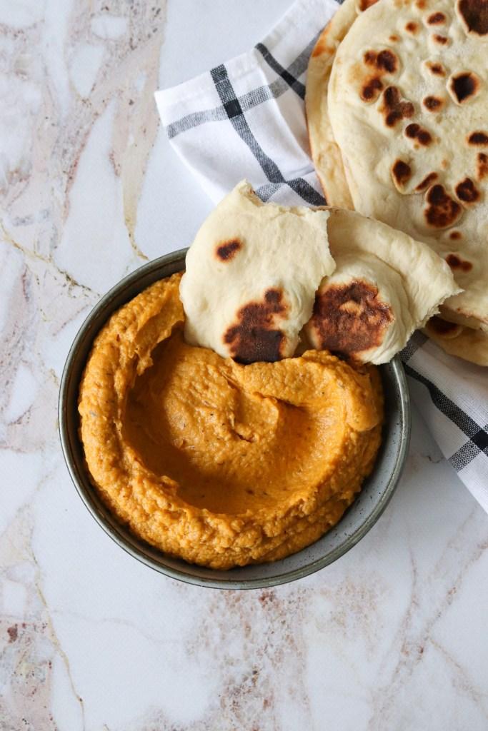 Hummus Med Søde kartofler - Hjemmelavet Hummus
