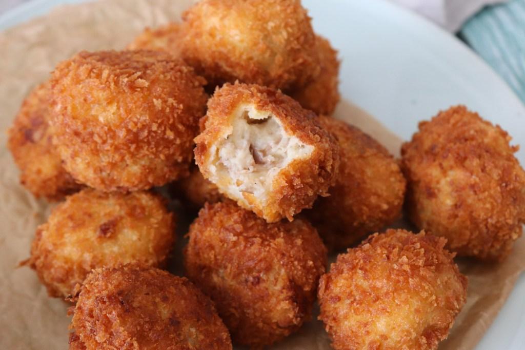 Kroketter Med Confiteret And - Kartoffelkroketter Med And
