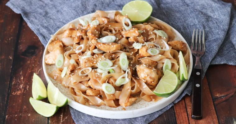 General Tso's Chicken -Asiatisk Inspireret Nudelret Med Kylling