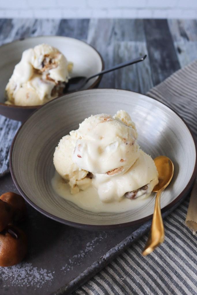 Den Bedste Vaniljeis Med Cookie Dough