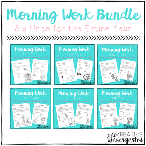 Morning Work Bundle