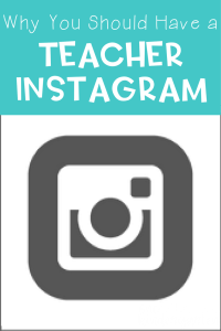 Do you want to share your teaching life and TpT products with an awesome community? Create a teacher Instagram! Read all the reasons why you should here.