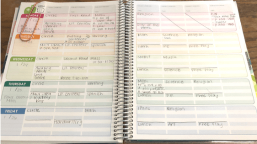 Do you feel like you're on a hamster wheel trying to keep up with everything on your to-do list? Check out my tips to be a more productive planner for a smooth week of teaching!