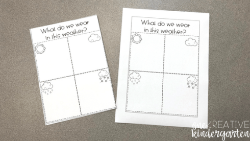 Want to use interactive notebooks but stuck with getting started? Check out these tips to using interactive notebooks in a kindergarten classroom.