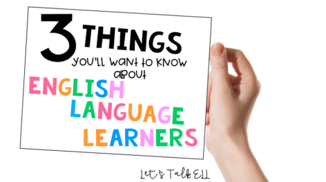 English Language Learners are in all of our classes and we MUST know how to work with them. Read these awesome tips about working with ELL students.