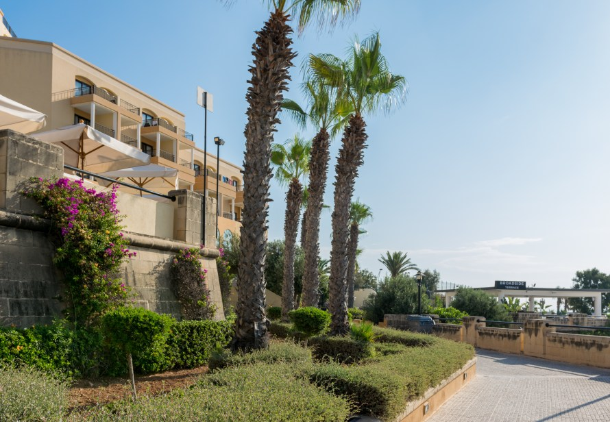 hotel grounds at Corinthia Hotel St. George's Bay Malta