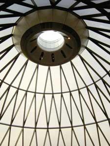Gherkin roof