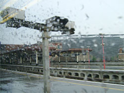 London Bridge in the rain