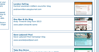 Top 10 Lewisham Blogs