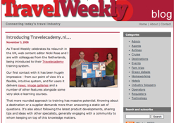 The Travel Weekly Blog