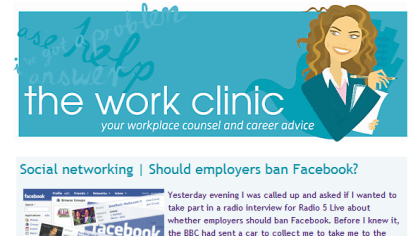 Work Clinic: Facebook