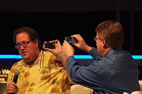 Jeff Pulver and Robert Scoble