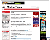Irish Medical Times website