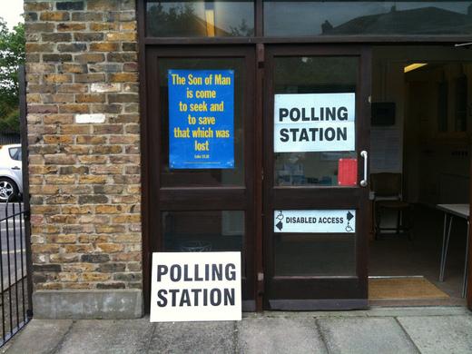 Lewisham Polling Station