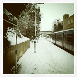 Snowy Sutton Station