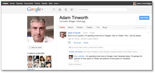 Google+ in action