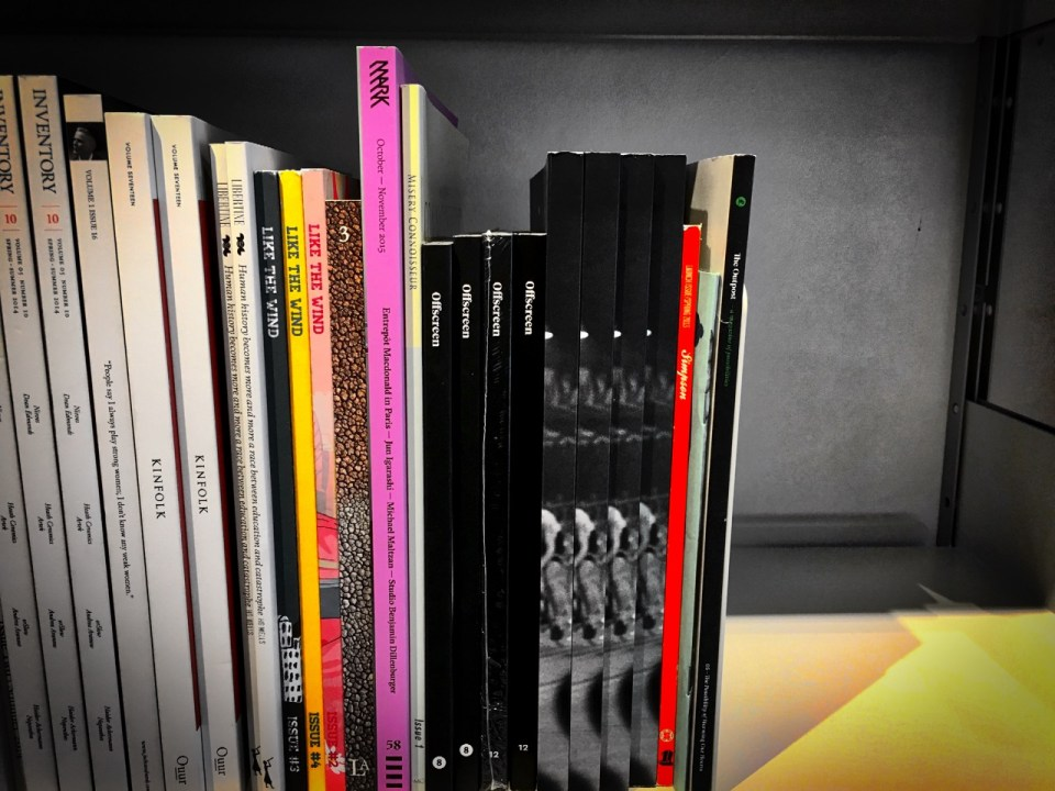 Magazines and magazines and magazines