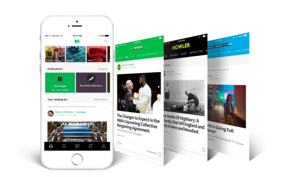 Medium publications on iOS