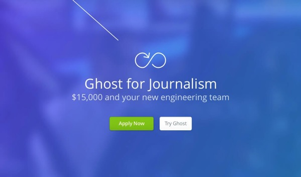 Journalism by Ghost