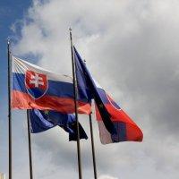 Die Slowakische Flagge