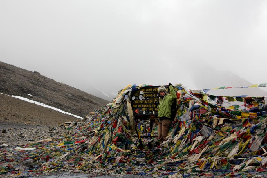 The Thorung La Pass is with 5416 meters one of the highest in the world