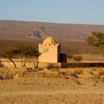 Der Marabou - Grabmal des gemeinsamen Vorfahren aller Bewohner.