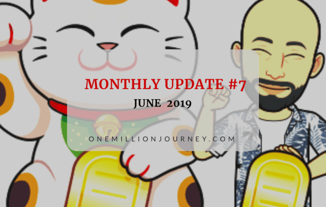 Monthly update june 2019 cover one million journey