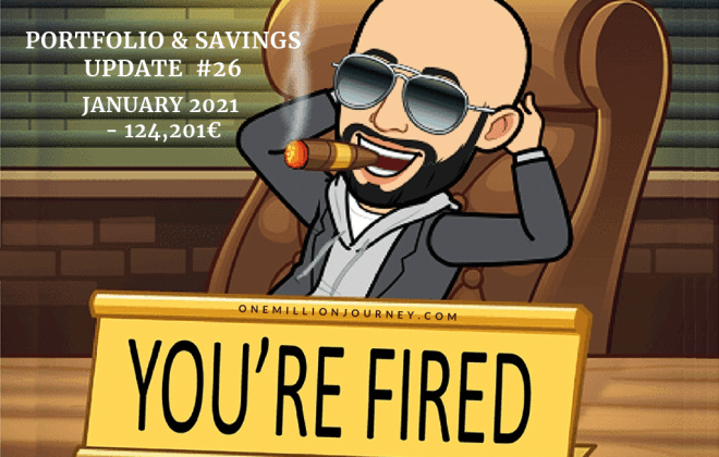 portfolio and savings update january 2021