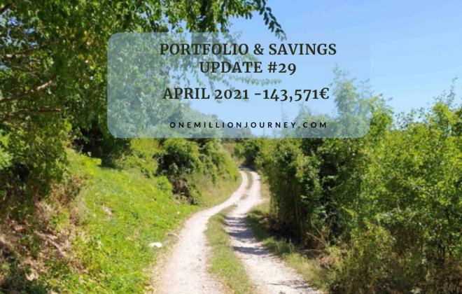 portfolio and savings update April 2021