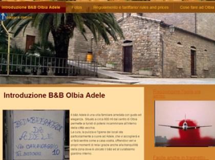 esempio di sito per b&b