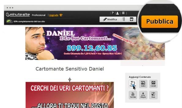 creare sito web per cartomanzia