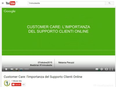 supporto clienti video