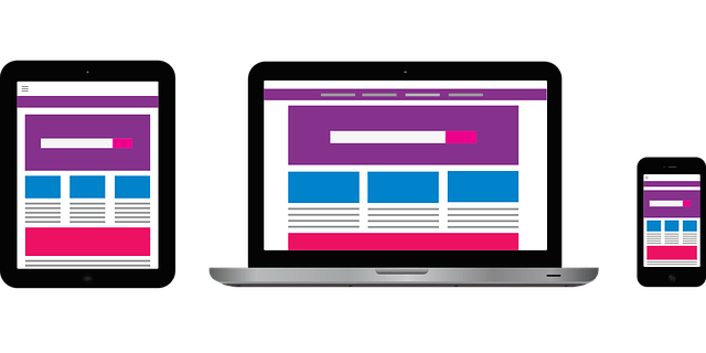 Grafica web pulita esempio