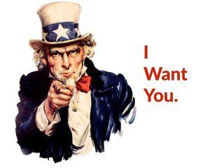 vogliamo te