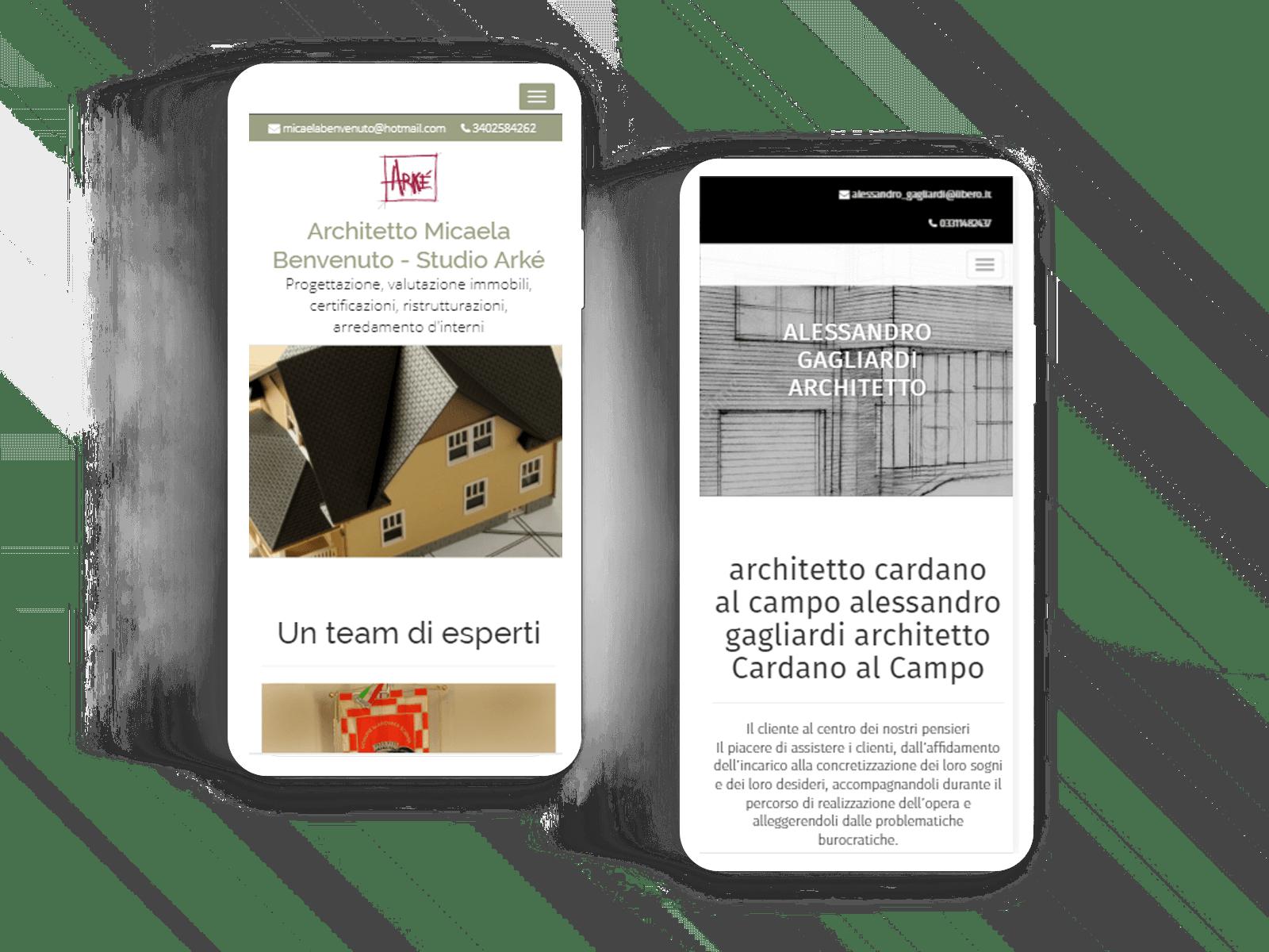Crea il tuo sito o ecommerce con one minute site prova for Architetti on line gratis