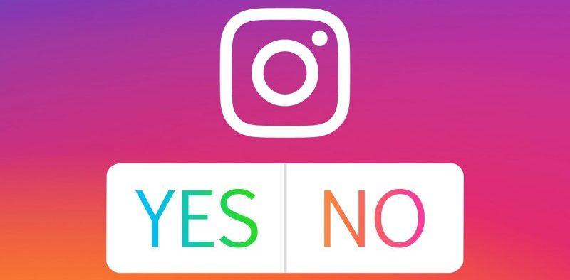 instagram sondaggio