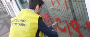Pulizia dei muri a Milano