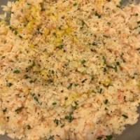 Insalata veloce di riso al salmone affumicato