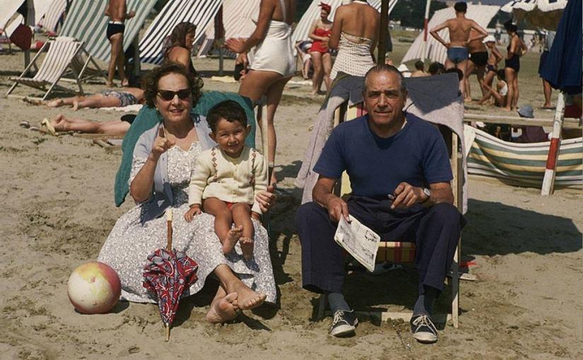 Paola e Alberto Manasse con Alberto Biraghi