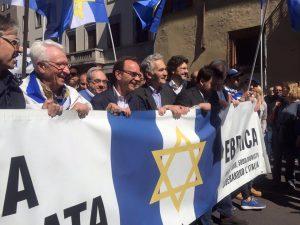 Parisi con la Comunità ebraica al 25 aprile