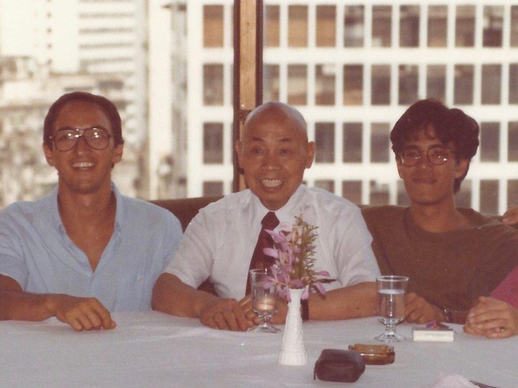 Alberto Biraghi e Chan Hon Chung