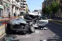 Incidente automobilistico a Milano
