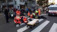 Incidente a Milano per velocità eccessiva
